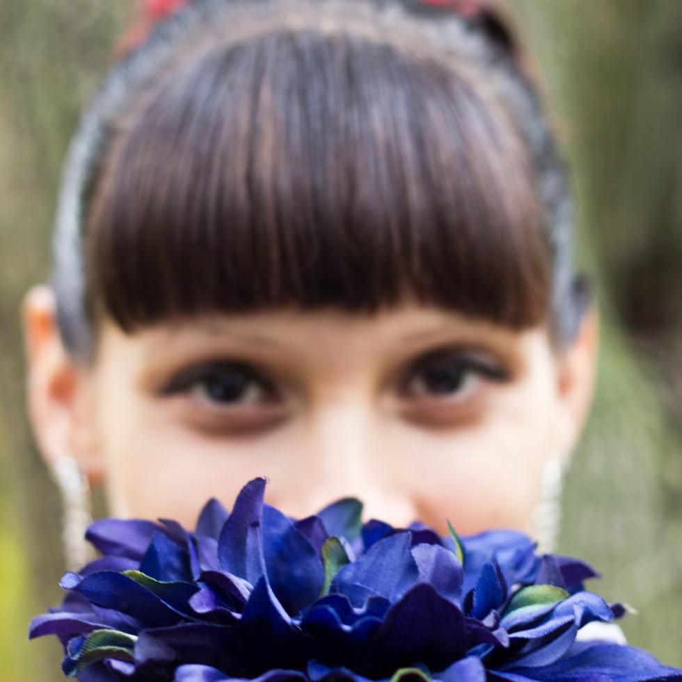 Flowers Veil