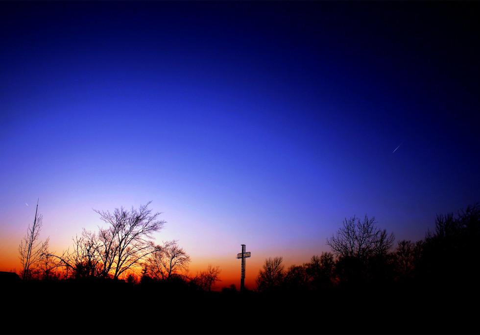 Religious Sunset